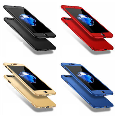 360 Grad iPhone XR Handyhülle Full Cover Handy Hülle Case Schutz Glasfolie Folie