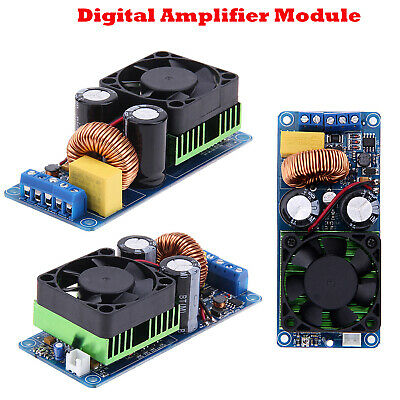 IRS2092S 500W Mono Channel Digital Class D HIFI Power Amp Amplifier Board Module