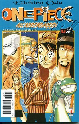 ONE PIECE 34 - YOUNG 135 - Star Comics - NUOVO