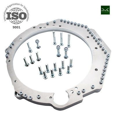 CHEVROLET LS7 LS3 LS1 ENGINE ADAPTER PLATE TO NISSAN 350z GEARBOX TUNING DRIFT
