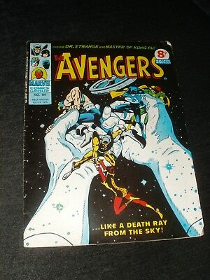 MARVEL COMIC THE AVENGERS ISSUE 94 5th JULY 1975