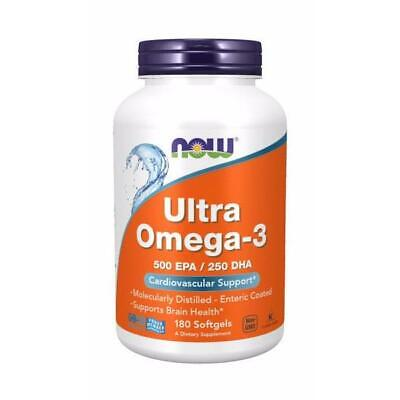 Now Foods, Ultra Omega-3, Cardiovascular Support, 180 Weichkapseln