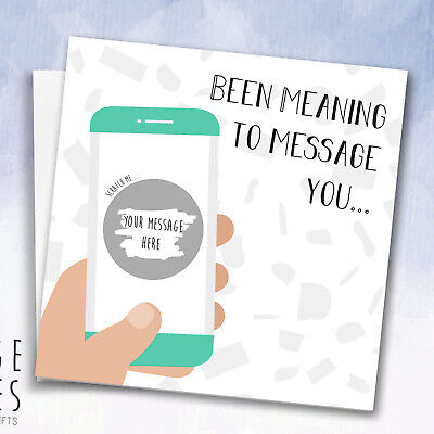 Scratch off surprise card Personalised * Guess what * Pregnancy reveal * Trip