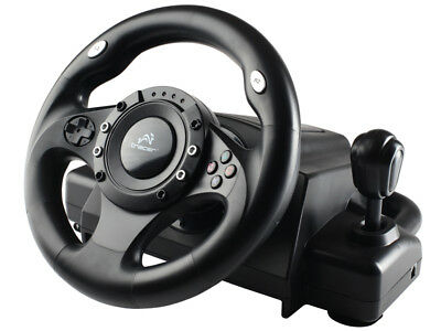 Volante Tracer Drifter PS3 / PS2 / PC Racing Wheel per videogiocchi