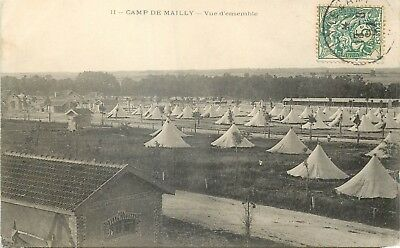 Cp Camp De Mailly Vue D'ensemble - B 576