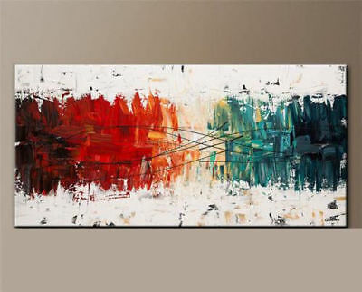 24x48 Modern Abstract Art Hand-painted Oil Painting on canvas,NO Frame