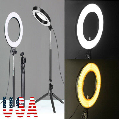 US New 18-inch Outer Dimmable SMD LED Ring Light Lighting Kit with Color Filters