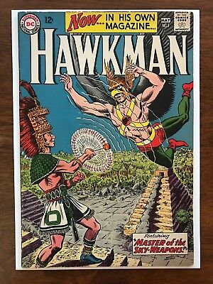 HAWKMAN # 1 VERY FINE 8.0 Key Book !! Bright Cover Colors !! Excellent Edges !!