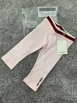 Givenchy Baby Girls Pink Leggings Brandnew With Tags Size 12 Months😍