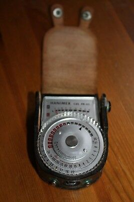 Hanimex PR-65 CDS Vintage Light Meter Working Very Good.