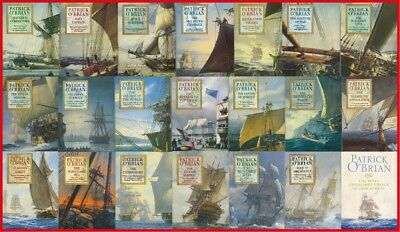 (MP3-CD) 24 Audiobooks – Aubrey Maturin Series by Patrick O'Brian