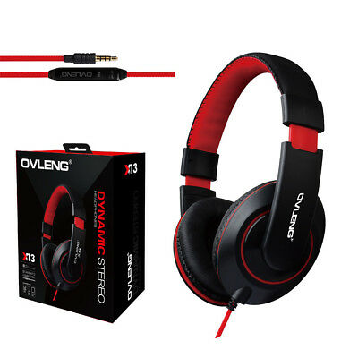 Wired Stereo Headband Gaming Headset for xBox One / S / X / PS4 Headphones