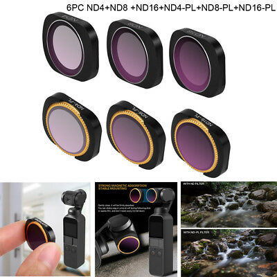 MCUV/CPL/ND4//8/16/32/64(-PL) Optical Camera Lens Filters For DJI OSMO POCKET