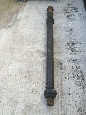 victorian reclaimed cast iron lamp post