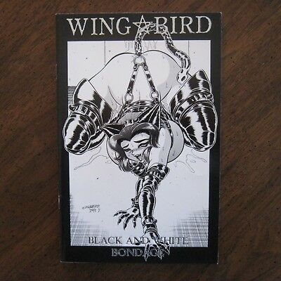 WINGBIRD Black and White Bondage Verotik Glenn Danzig NM Samhain Misfits