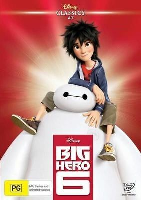Big Hero 6 (Disney Classics)  - DVD - NEW Region 4