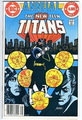The New Teen Titans annual 2 (1983) - First appearance of Vigilante - See Scans