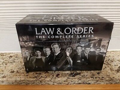 Law and Order Complete Seasons 1-20 DVD Collection TV Series Complete Box Set