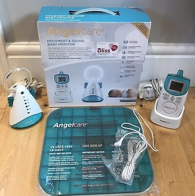 Angelcare AC401 Movement and Sound Baby Monitor FREE P&P