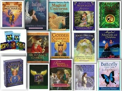 Doreen Virtue Oracle cards Variety to choose from Tarot Angel Psychic spiritual