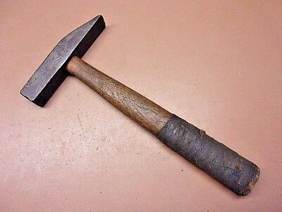 Vintage 1 Lb. Blacksmith Cross Peen Hammer Forge Shaping Riveting Machinists