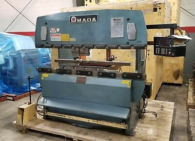 Amada Rg-50 Hydraulic Press Brake New: 1983