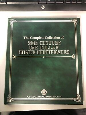 Complete Collection of 20th Century One Dollar $1 Silver Certificates