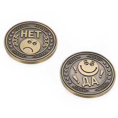 Yes Or No Commemorative Coin Gifts Collection Coin Challenge Coin Lucky Co AF