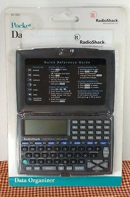 SEALED Radio Shack Pocket Data Organizer Unconnected Offline Privacy! FREE SHIP