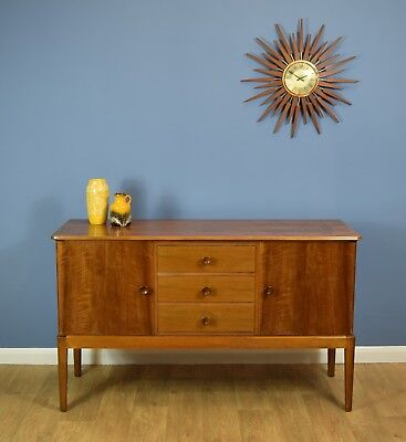 Mid Century Retro Gordon Russell Satin Walnut Sideboard for Heals London 1960s