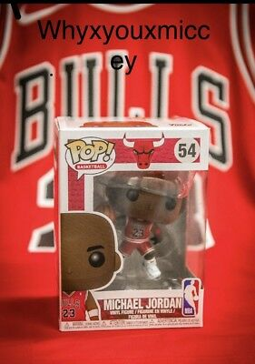 Funko POP NBA  Chicago Bulls Michael Jordan Preorder #54