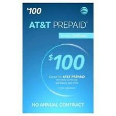AT&T Go Phone $100 Refill, fast & right
