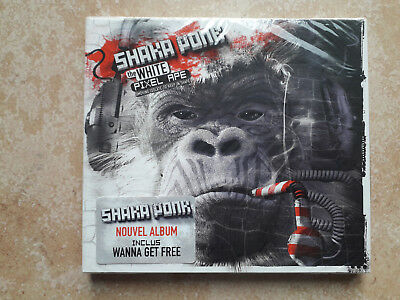 NEW & SEALED Shaka Ponk The White Pixel Ape CD Digipak 2014 NEUF Wanna Get Free