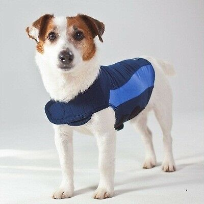 Thundershirt For Dogs Blue Polo Extra Small