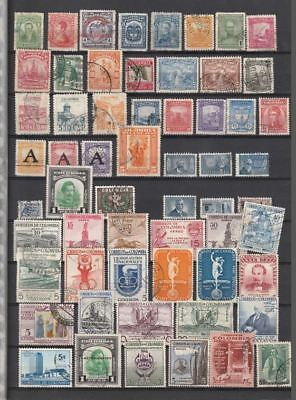 COLOMBIA KOLUMBIEN  South America good ones classic ones till -1956 $$$$$