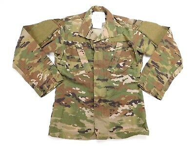 US Army Combat Coat ACU Camo FR Military Uniform OCP Multicam XS X-Small Reg NWT