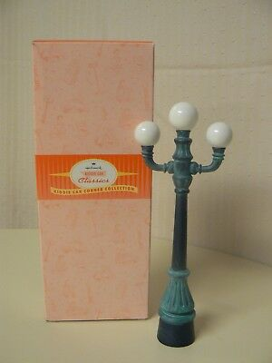 Hallmark Kiddie Car Classics Street Lamps Corner Collection