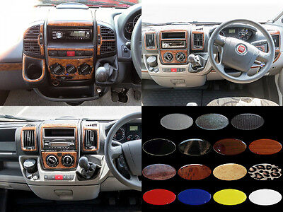 FIAT DUCATO / CITROEN RELAY / PEUGEOT BOXER - Dash Trim Kit RHD - 15 colours