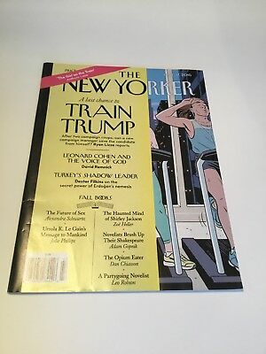 The New Yorker A Last Chance To Train Trump October 2016