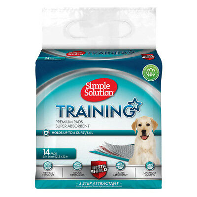 Simple Solution Puppy Training Pads 14pk