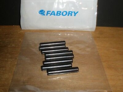 "3/8"" X 2"" Dowel Pin Black Finish Alloy Steel 3/8"" Diameter (Qty.8)"