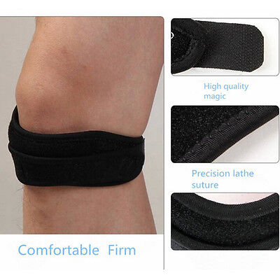 new  Sport Gym Patella Tendon Knee Support Strap Brace Pad Band Protector NIUS