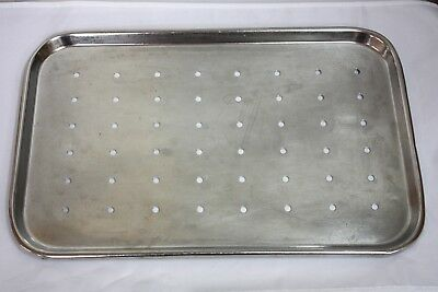 Shampaine Industries Stainless Steel Perforated Tray