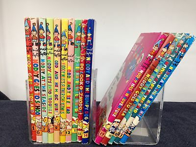 15 Vintage Noddy Books 'All Aboard for Toyland' Collection by Enid Blyton #628