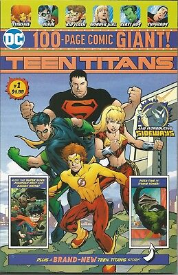 Teen Titans 100 Page Giant #1 WALMART Exclusive | NM | 1st Disruptor | DC