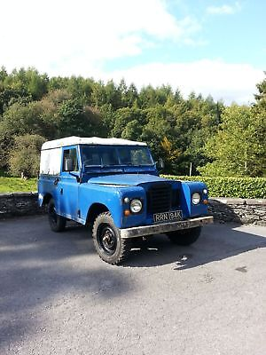 Landrover Series 3 88 1972 Early Chassis Number (Relisted)