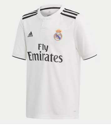 Camiseta HOMBRE personalizable Real Madrid 18/19 BLANCO +parches tallas S M L XL