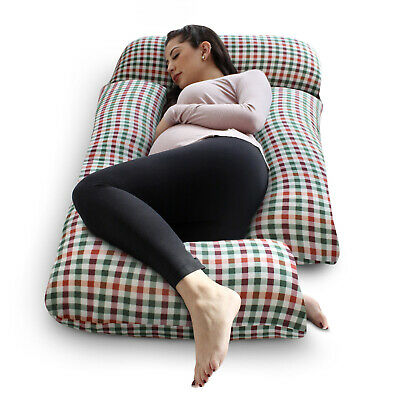 SleepNook Pregnancy Pillow - 3 Piece Maternity Support with Soft Jersey Cover