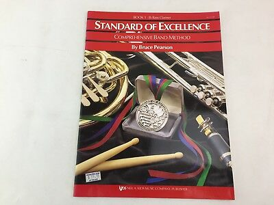 Standard of Excellence - Book 1 Bb Flat Bass Clarinet-  Band Method - W21CLB