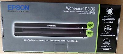 New Sealed Epson Workforce Ds 30 Portable Document Image Color